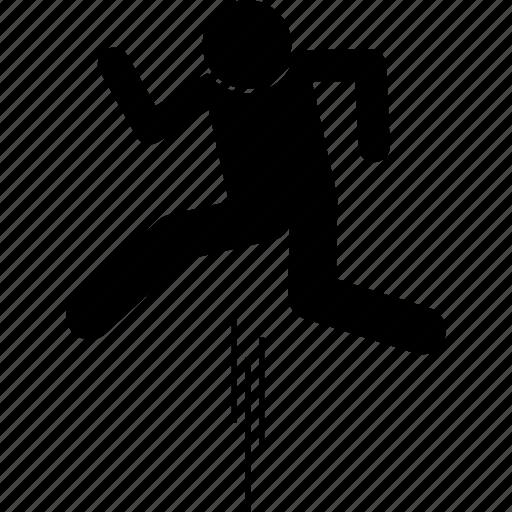 jump, jumping icon