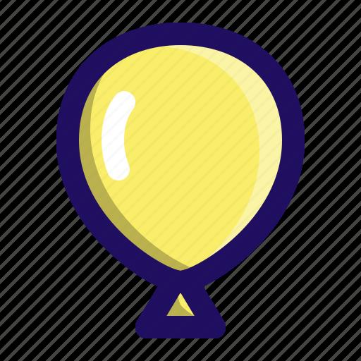 air, baloon, birthday, decoration, helium, party icon