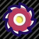 blade, circular, knife, saw, tool icon