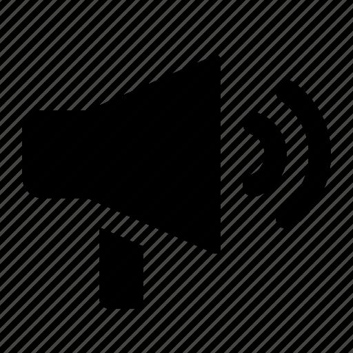 announcement, loud, louder, megaphone, nontifications, speaker icon