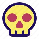 death, pirate, poison, rip, skeleton, skull icon