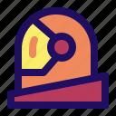 astronaut, face, helmet, space icon