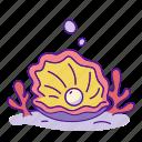 aquarium, jurassic, pearl, sea, shell