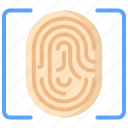 clue, evidence, fingerprint, investigation, justice, law, proff icon