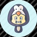 animal, avatar, costume, cute, kawai, pinguin icon