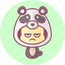 animal, avatar, costume, cute, kawai, panda icon
