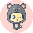 animal, avatar, costume, cute, kawai, rat icon