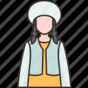 kyrgyzstan, man, traditional, costume, ethnic