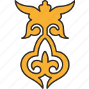 ornament, pattern, decorative, kazakh, graphic