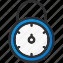 lock, padlock, password, rotate, security