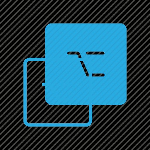 alt, keyboard, option, type icon