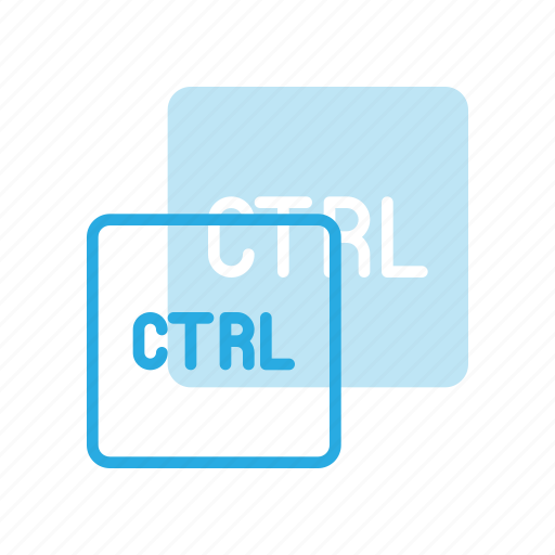 control, keyboard, type icon