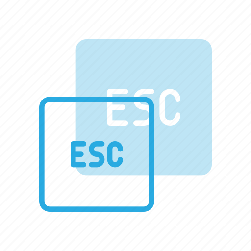 Esc, keyboard, type icon - Download on Iconfinder