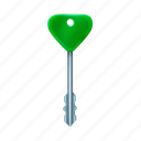 end, high, key icon