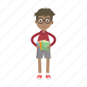 boy, nerd, reader, reading