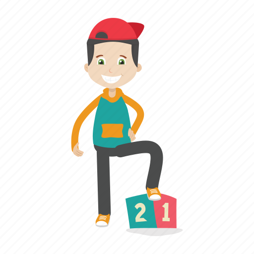 Boy, character, kid icon - Download on Iconfinder