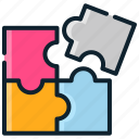 brain, game, kids, play, puzzle, toys icon