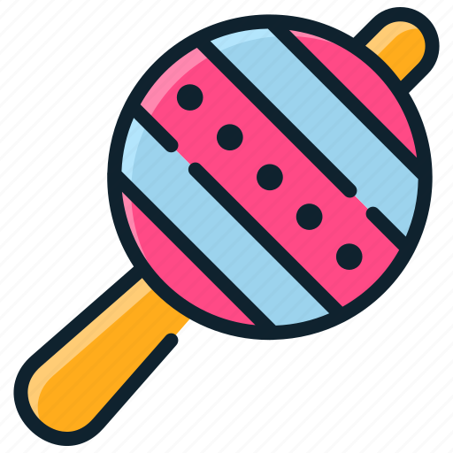 Baby, childhood, children, rattle, toys icon - Download on Iconfinder