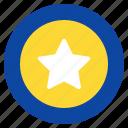 ball, children, kid, star, toy icon