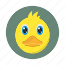 bird, chick, children, duck, kids, toy icon
