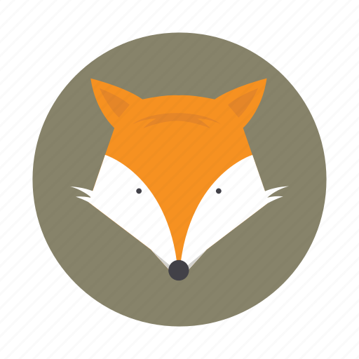 animal, fox, jackal, kids, wolf icon