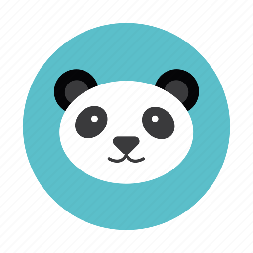 animal, bear, children, kids, mammals, panda, toy icon