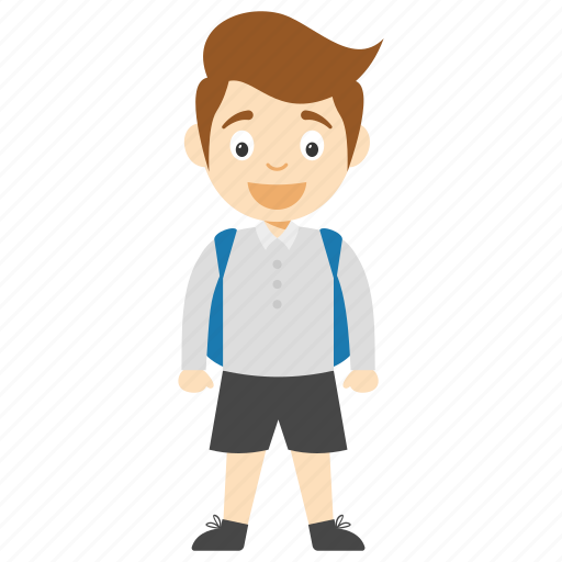 kids cartoon character, little schoolboy cartoon, schoolboy cartoon, schoolboy cartoon character, schoolboy cartoon in glasses icon