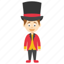 cartoon magician, cute magician boy, kids cartoon character, magician boy, magician character icon