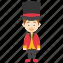 cartoon magician, cute magician boy, kids cartoon character, magician boy, magician character icon