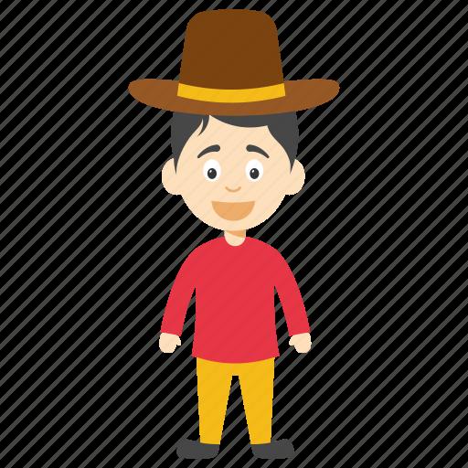 cartoon character, cartoon gentleman, cute gentleman, gentleman character, little gentleman icon