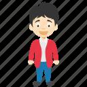 animated boy, boy, cartoon boy, cartoon character, cartoon kid icon