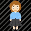 cute cartoon girl, kid cartoon, kids cartoon character, little cartoon girl, little girl cartoon icon