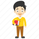 cartoon kid holding book, cute cartoon kid, happy cartoon child, happy cartoon kid, kids cartoon character icon