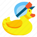 children, duck, duckling, rubber, toy, toys, yellow icon