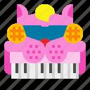 keyboard, music, piano, sound, toy
