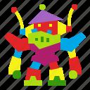 childhood, kid, retro, robot, robotic, robotics, toy