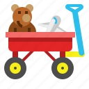 car, toy, trailer, transport, transportation, truck, vehicle icon