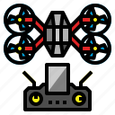 aircraft, boy, drone, helicopter, toy icon