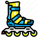 skates, roller, skating, rollerblade, skater