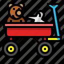 car, toy, trailer, transportation, truck