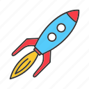 child, game, kid, play, rocket, spaceship, toy icon