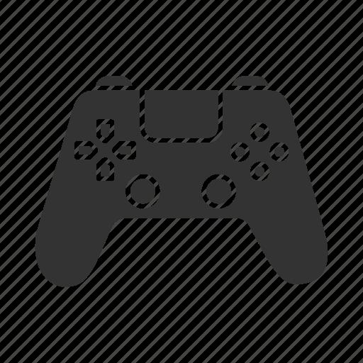 Joystick Entertainment Gamepad Child Play Video Game Icon