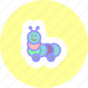 caterpillar, game, toy, toys icon