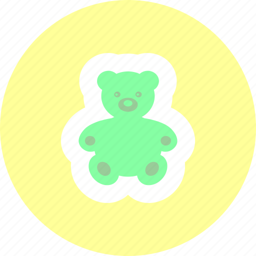 bear, teddy, toy, toys icon
