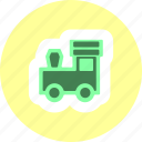 kid, play, toy, train icon