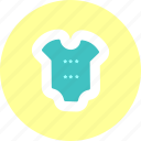 baby, baby suit, kid, toddler icon