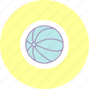 ball, game, kid ball, play icon