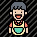 apron, baby, bib, eating, sanitary