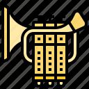 brass, instrument, jazz, music, trumpet