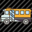 bus, school, student, transportation, trip